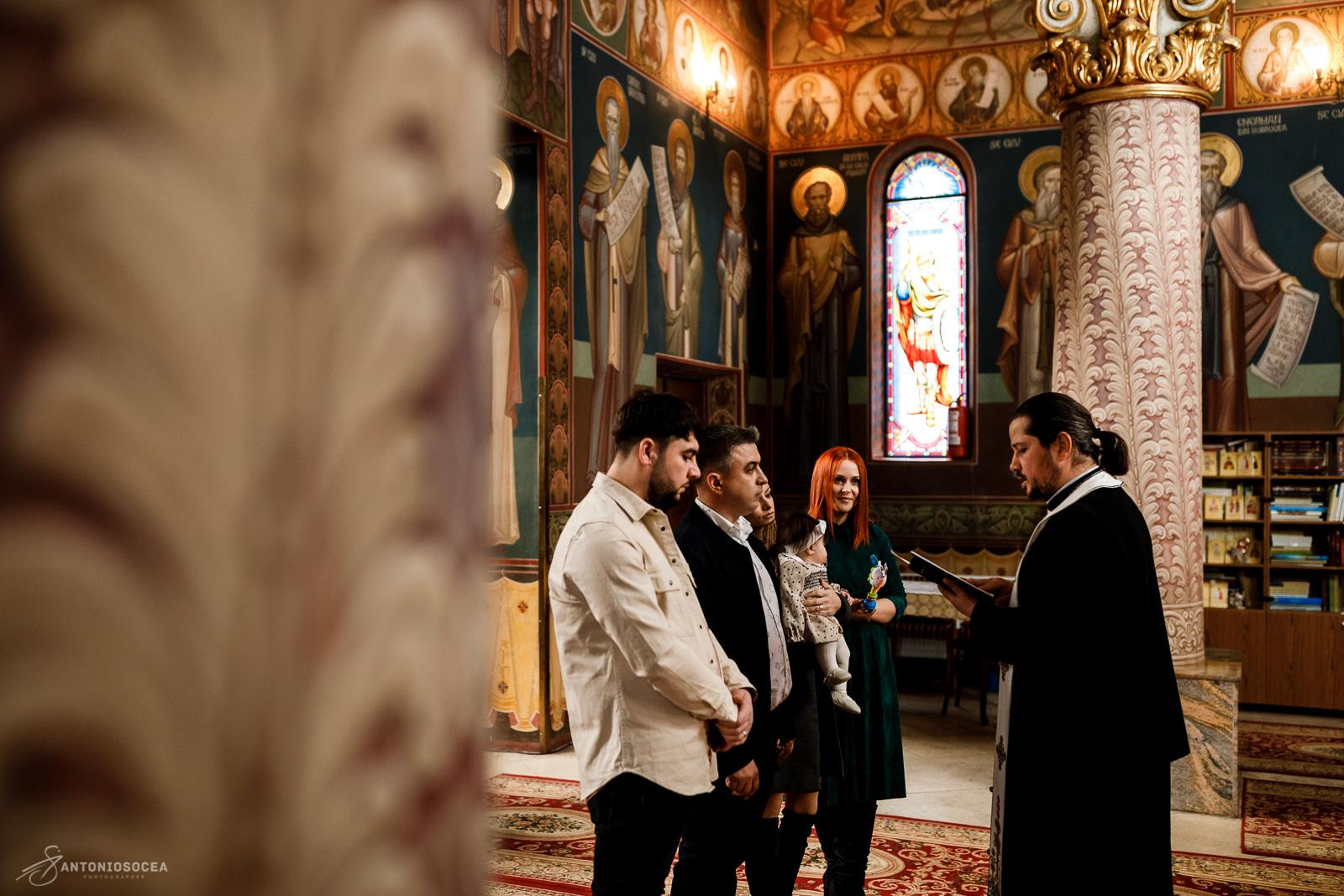 Botez Sara-Biserica Sf.Gheorghe Capra Bucuresti - Antonio Socea Fotograf profesionist Bucuresti